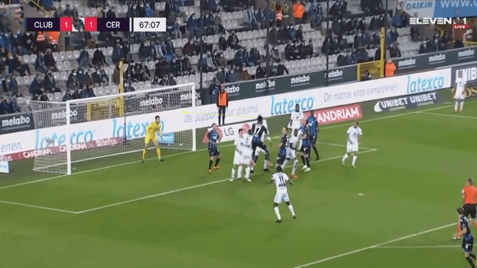 Belgian Pro League - Club Brugge v Cercle Brugge - tactical analysis tactics