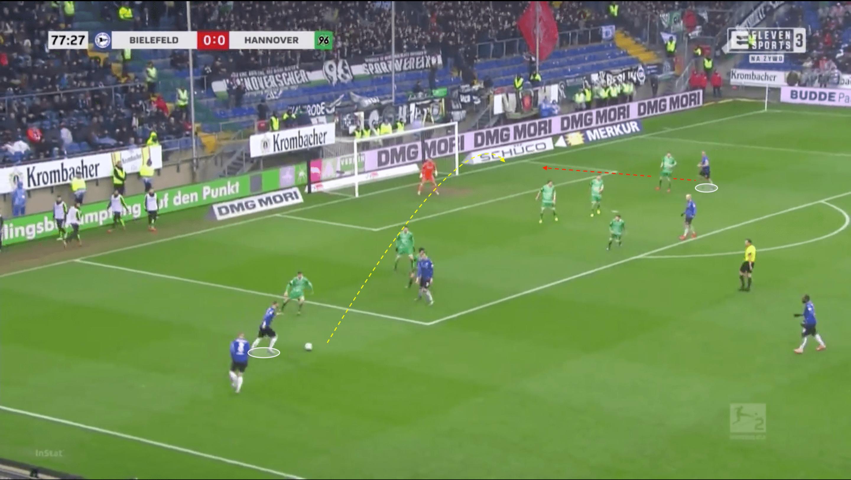 Marcel Hartel at Bielefeld 2019/2020 - scout report - tactical analysis tactics