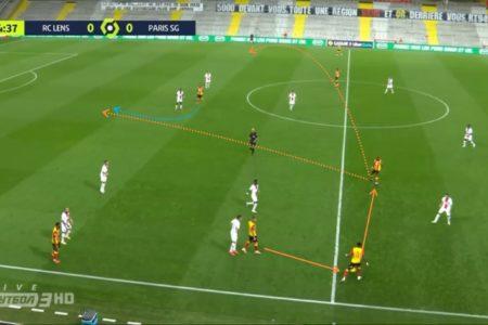 Ligue 1 2020/21: Lens vs Paris Saint-Germain - tactical analysis tactics