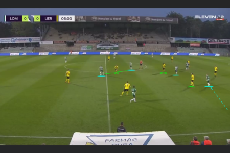 Belgian First Division B 2020/21: Lommel SK vs Lierse Kempenzonen - tactical analysis tactics