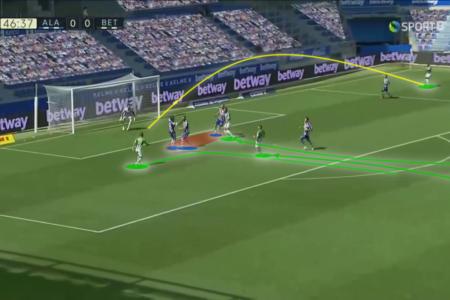 La Liga 2020/21: Alaves vs Real Betis - tactical analysis tactics