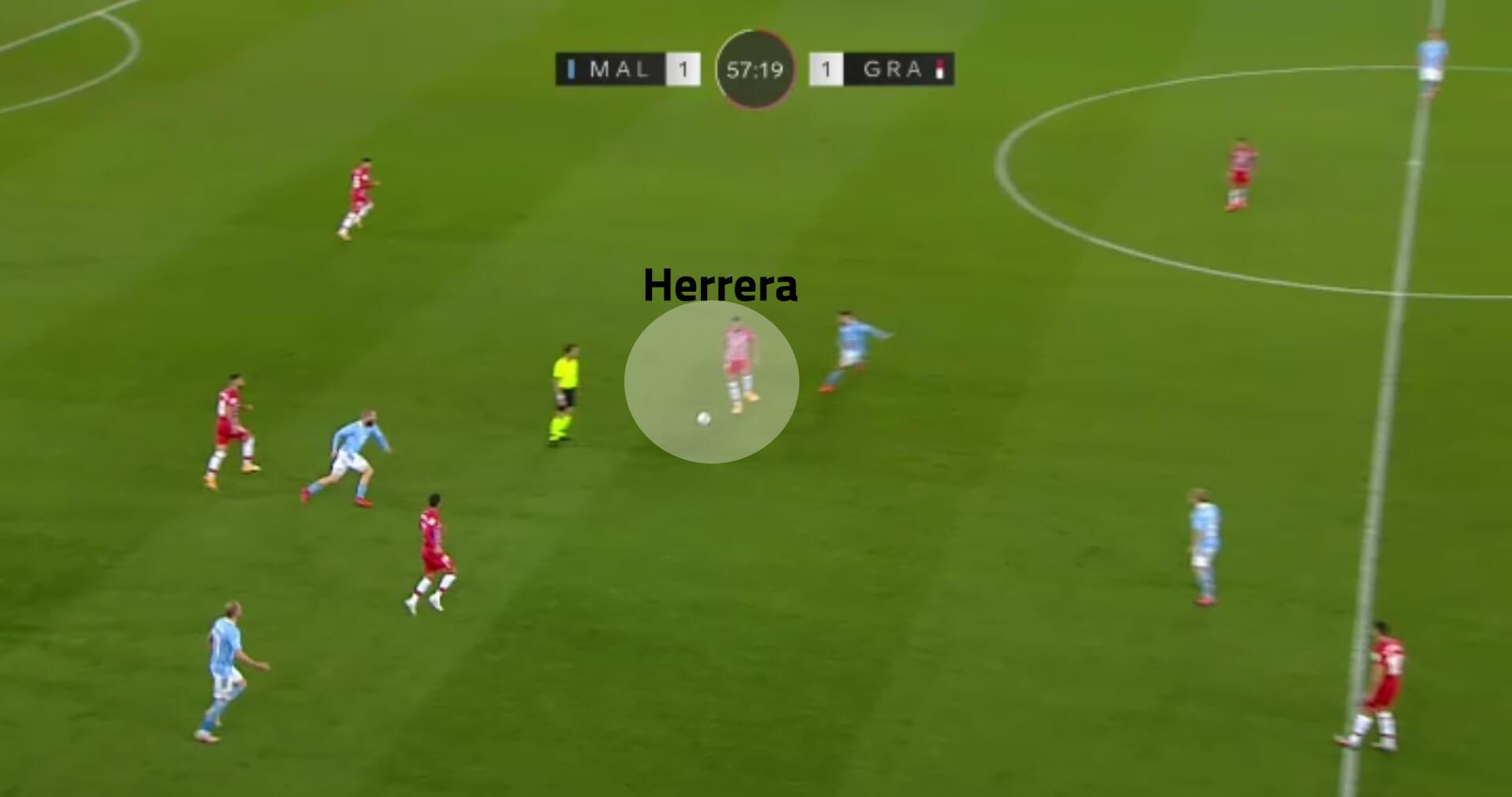 Yangel Herrera 2020/21 - scout report - tactical analysis tactics