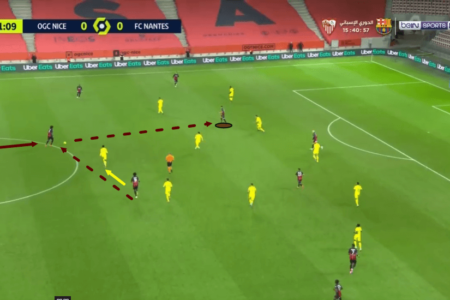 Nice: Dante's role in the build-up - scout report - tactics