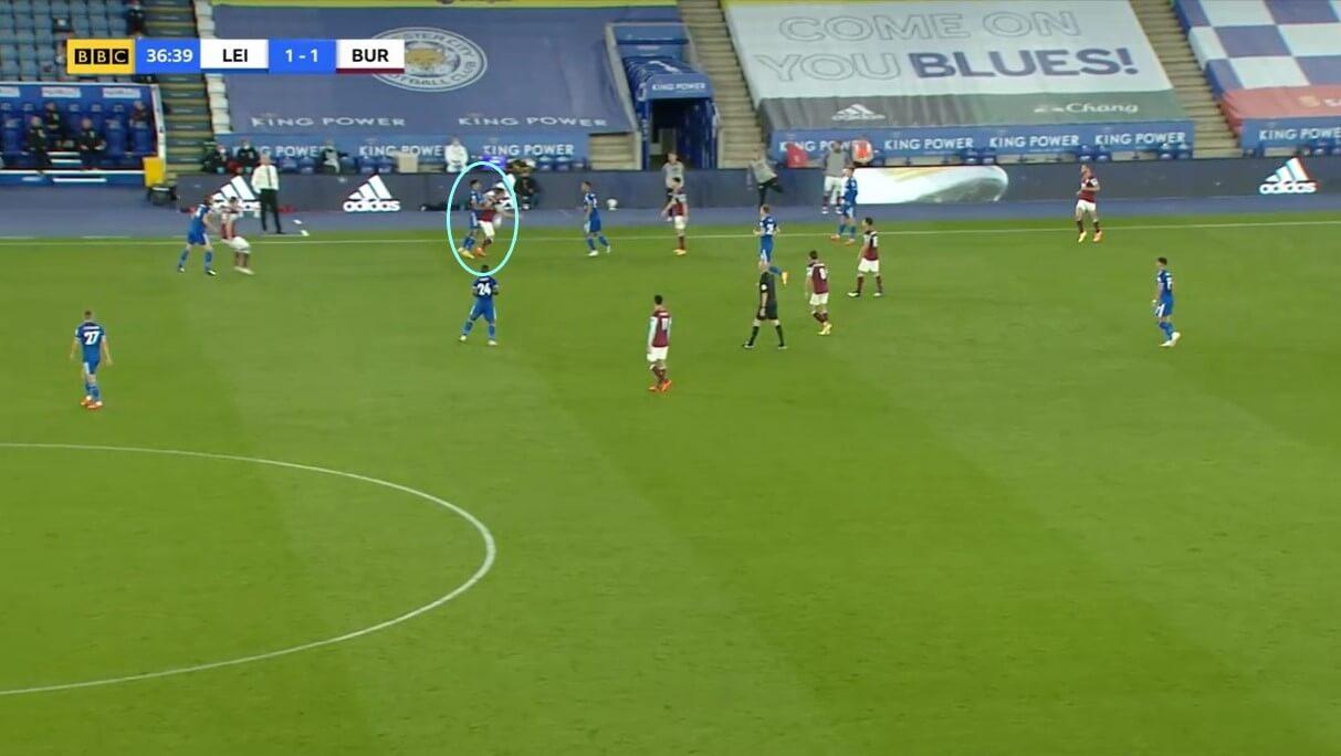 James Justin at Leicester City 2020/2021 - scout report - tactical analysis tactics