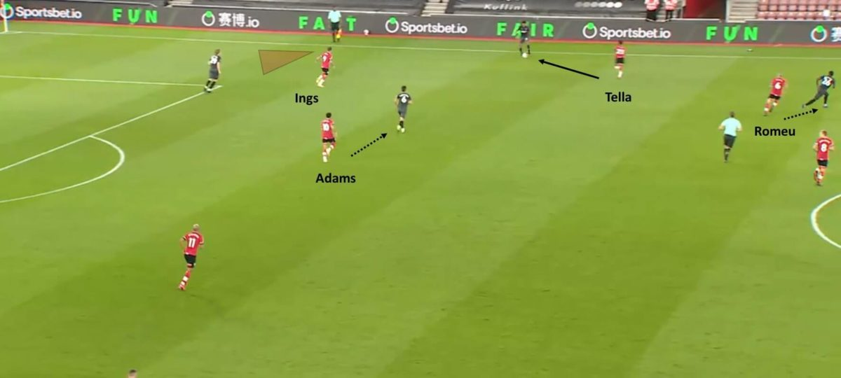 Southampton 2020/21: Defensive issues around the press and the high line - scout report - tactical analysis tactics