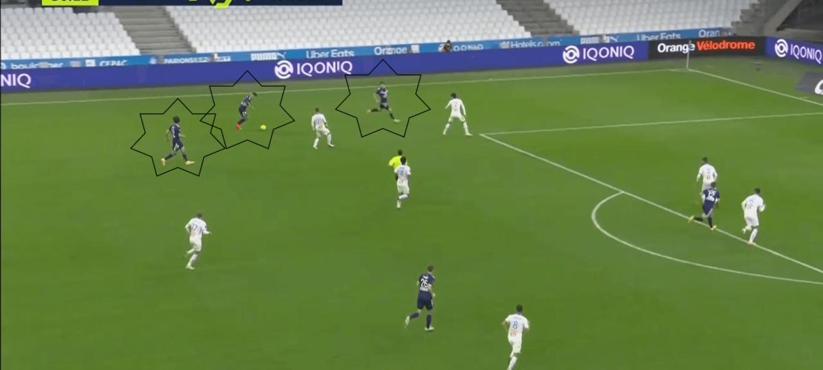 Ligue 1 2020/21: Marseille vs Bordeaux - tactical analysis tactics
