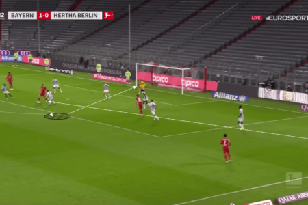 Bundesliga 2020/21: Bayern Munich vs Hertha BSC - tactical analysis tactics