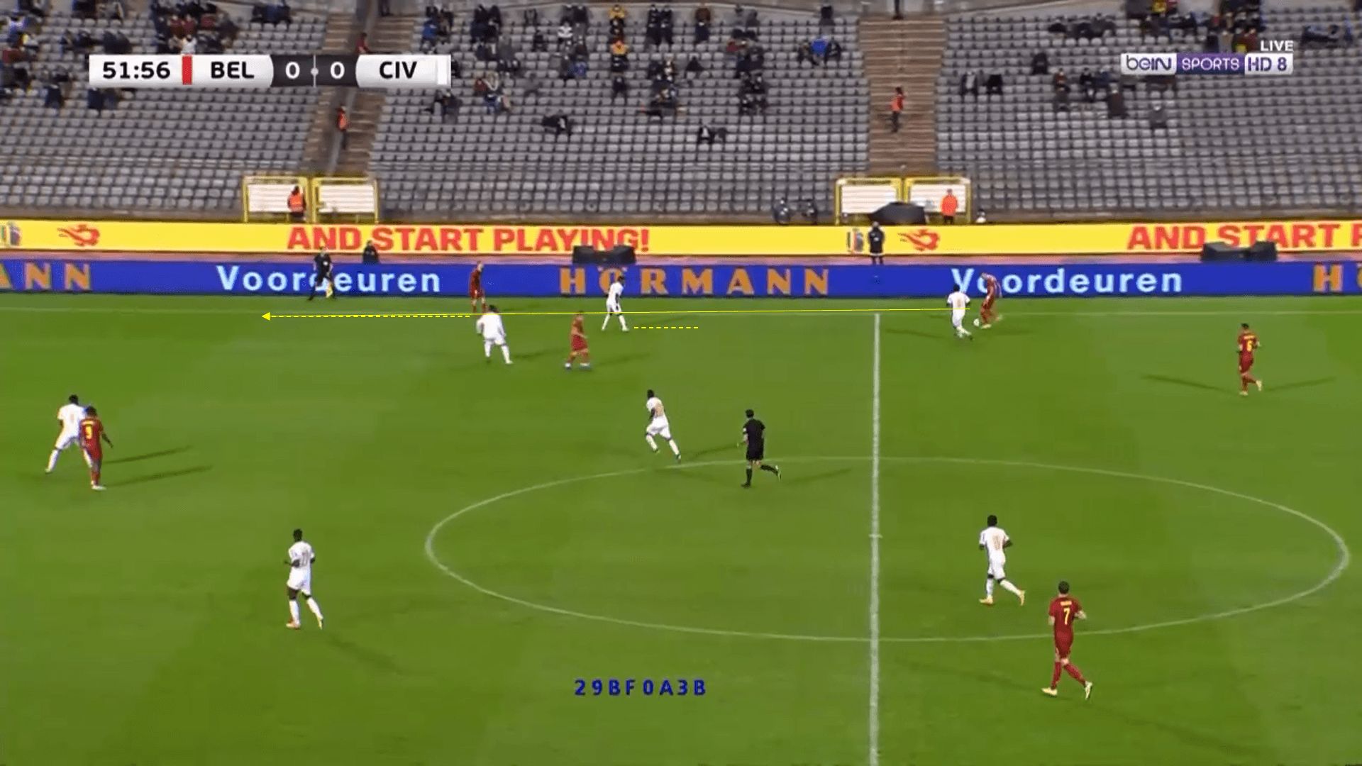 International Friendly - Belgium v Cote d'Ivoire - tactical analysis tactics