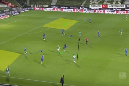 Bundesliga 2020/21: Werder Bremen vs Hoffenheim - tactical analysis tactics
