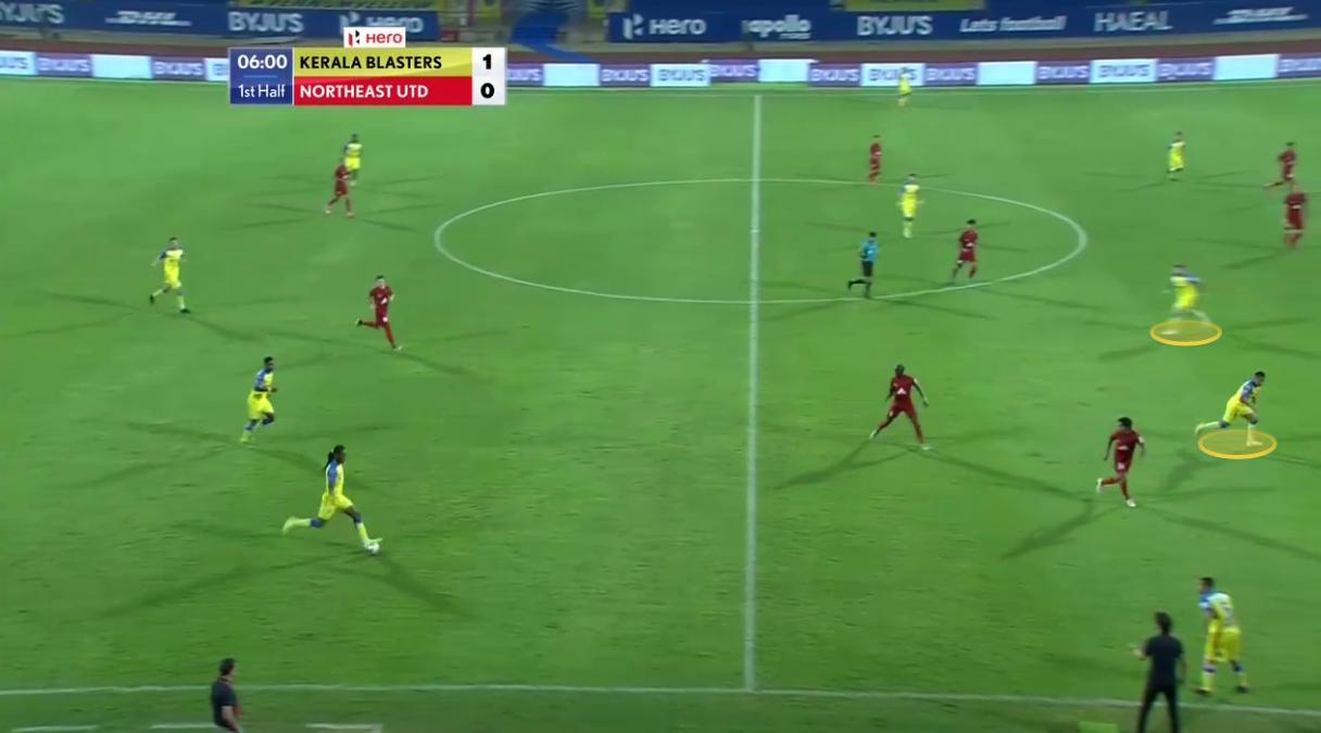 Indian Super League 2020/21: Kerala Blasters vs NorthEast United - tactical analysis tactics