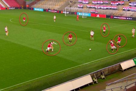 FAWSL 2020/2021: Manchester United Women vs Arsenal Women - tactical analysis tactics