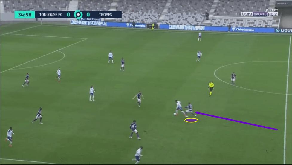 Bafode Diakite 2020/21 - scout report - tactics