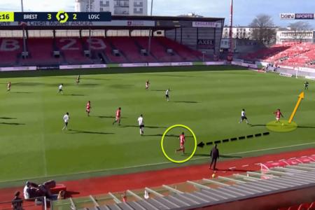 Jean-Kévin Duverne at Brest 2020/21 - scout report tactical analysis tactics