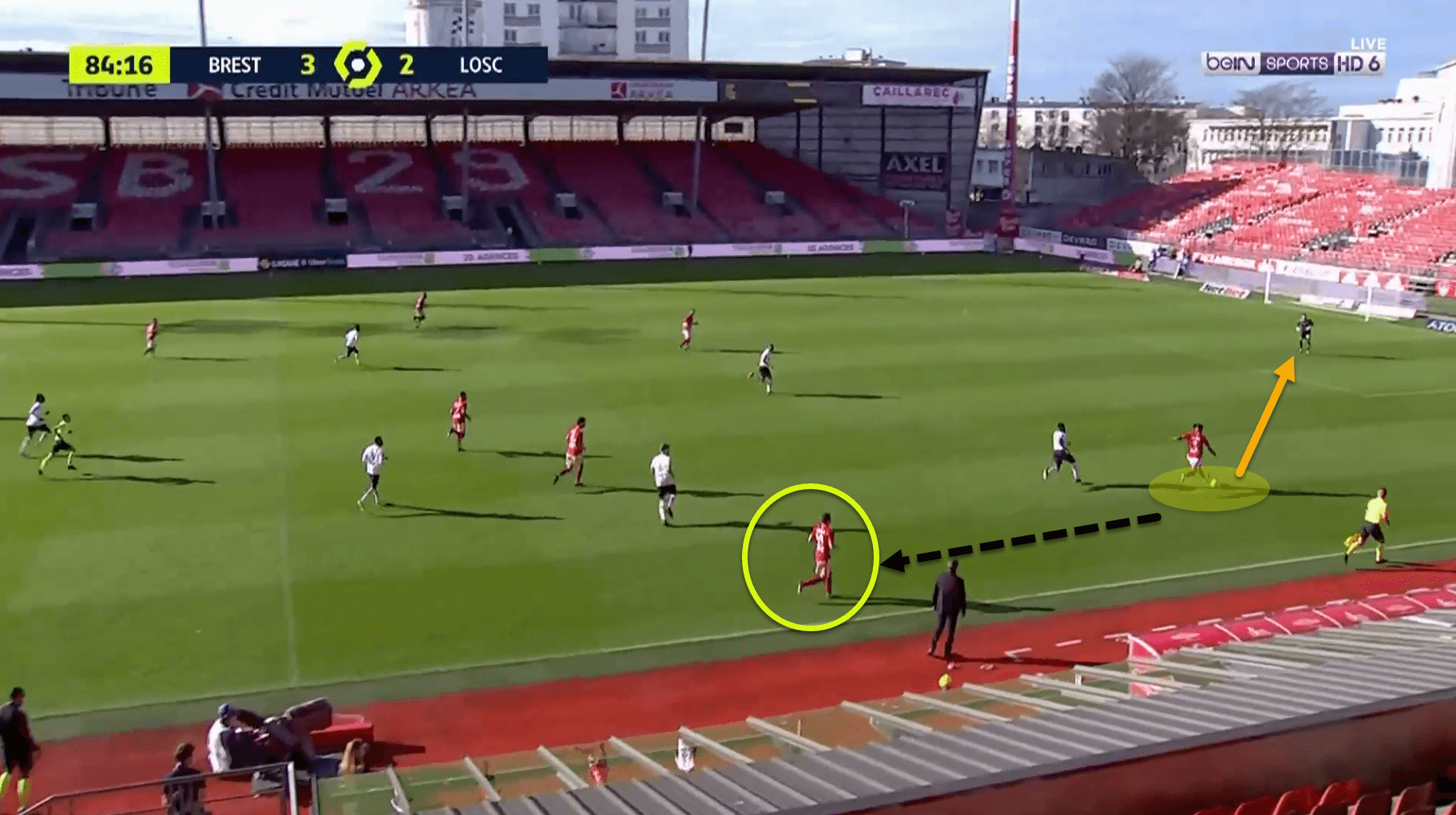 Jean-Kévin Duverne at Brest 2020/21 - scout report tactical analysis tactics