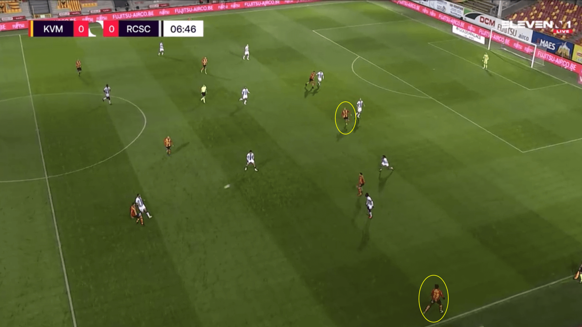 Belgian Pro League 2020/21 - KV Mechelen v R. Charleroi - tactical analysis tactics