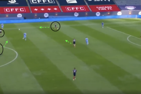 MLS 2020: Chicago Fire vs NYCFC - tactical analysis tactical analysis tactics