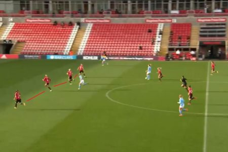 Casey Stoney at Manchester United Women 2020/2021 - tactical analysis tactics
