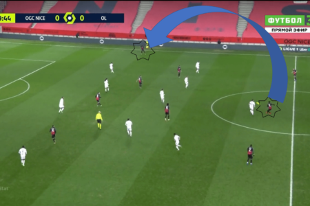 Ligue 1 2020/21: Nice vs Lyon - tactical analysis tactics