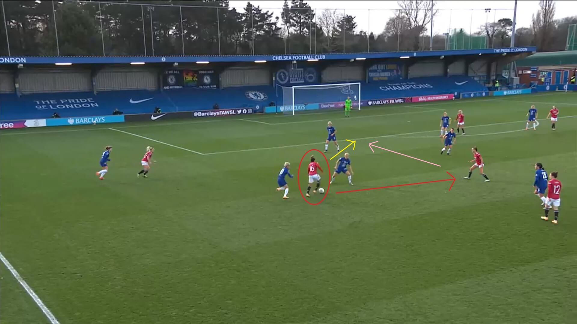 FAWSL 2020/2021: Chelsea Women v Manchester United Women - tactical analysis tactics