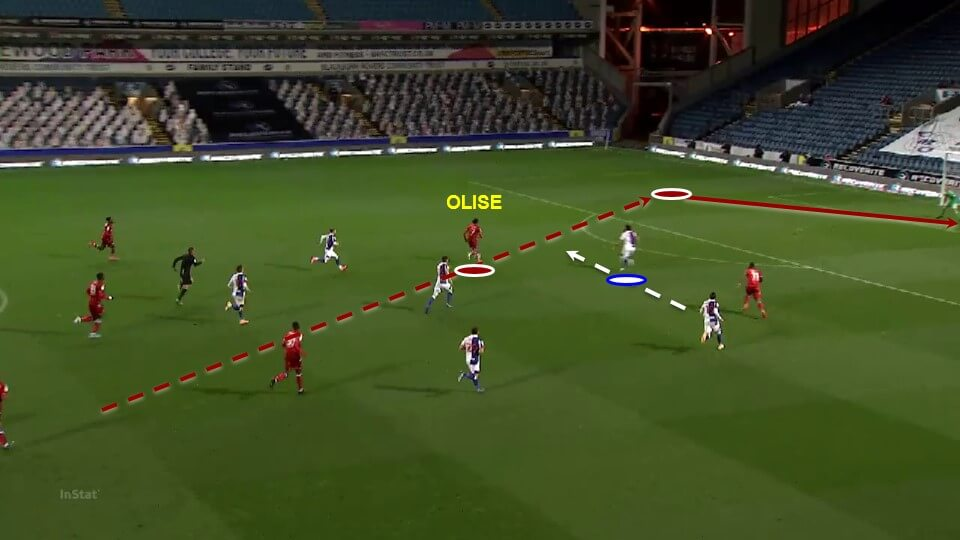 Michael Olise: Reading's breakthrough teenager tactical analysis tactics
