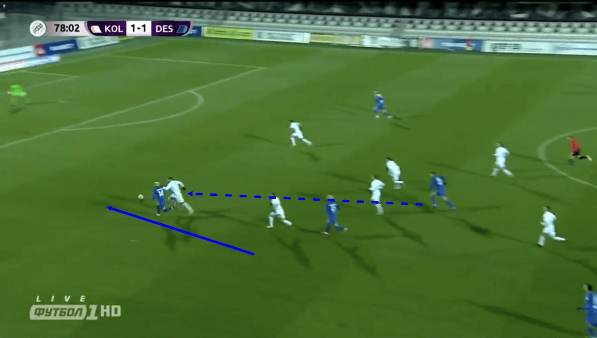 Mykhailo Mudryk 2020/21 - scout report - tactical analysis - tactics
