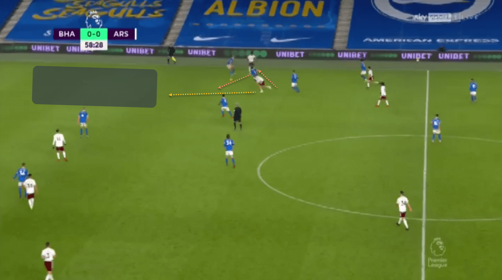 Emile Smith Rowe Arsenal tactical analysis tactics Premier League