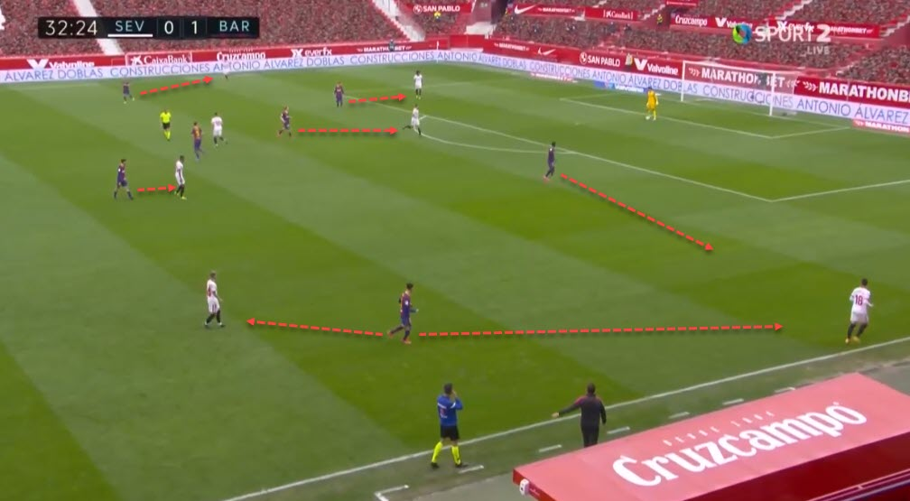 La Liga 2020/21: Sevilla vs Barcelona - tactical analysis - tactics