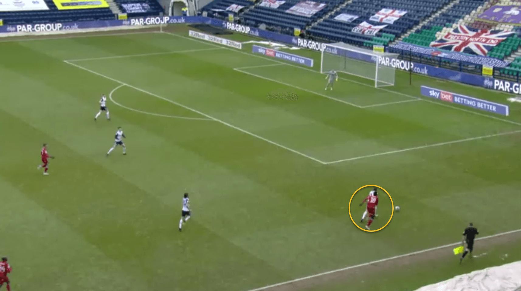 Ben Davies Liverpool tactical analysis scout report tactics