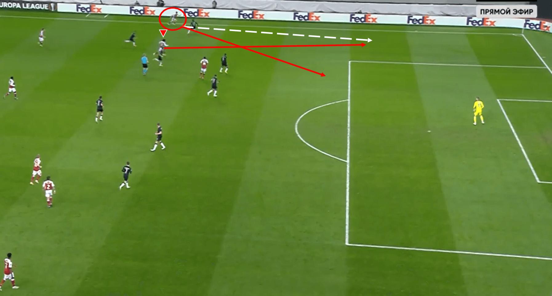 Arsenal Advance: Aubameyang and Saka inspire Gunners' European comeback tactical analysis tactics