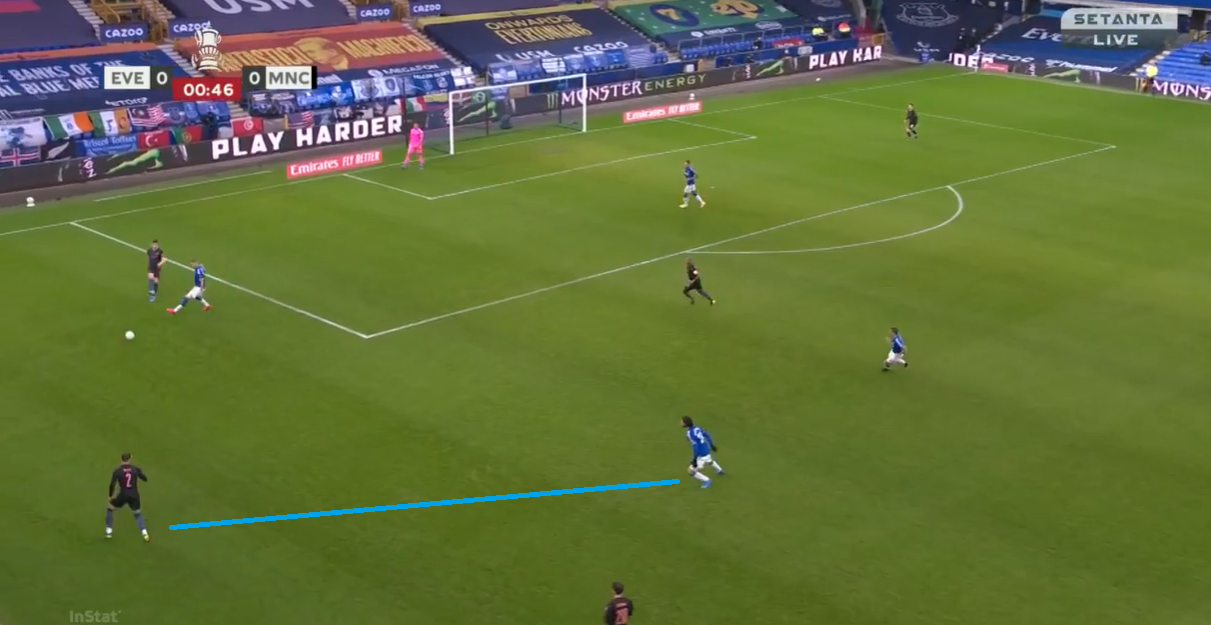 Shifting shapes: Pep's subtle tweak that led to breaking down Everton's disciplined low block - tactical analysis tactics