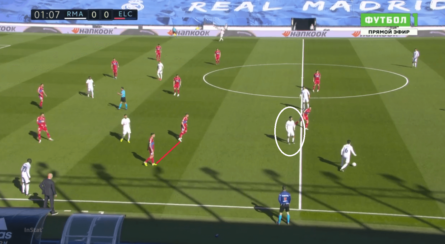 How Elche's disciplined low-block restricted Madrid to very low quality shots. - tactical analysis tactics