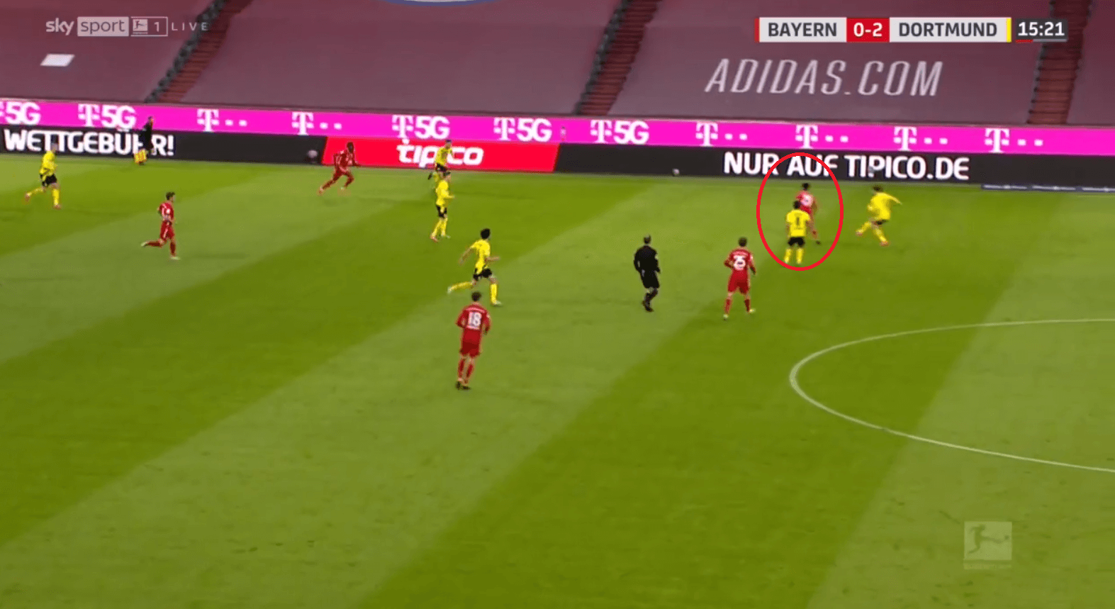 How Flick's changes to Bayern's positional play inspired a comeback against Dortmund's mid-block - tactical analysis tactics
