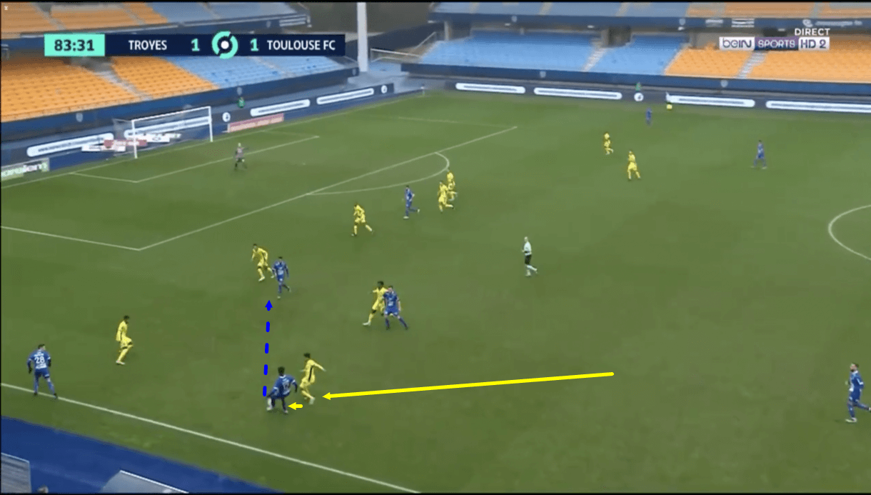 Amine Adli 2020/21 - scout report - tactical analysis - tactics