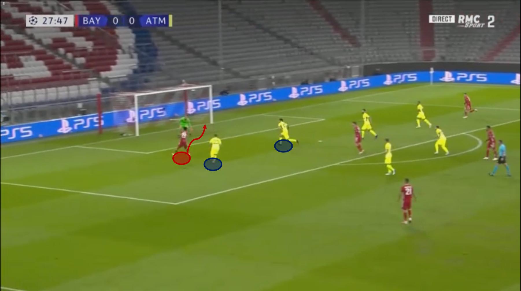 Kingsley Coman at Bayern Munich 2020/21 - scout report - tactical analysis tactics