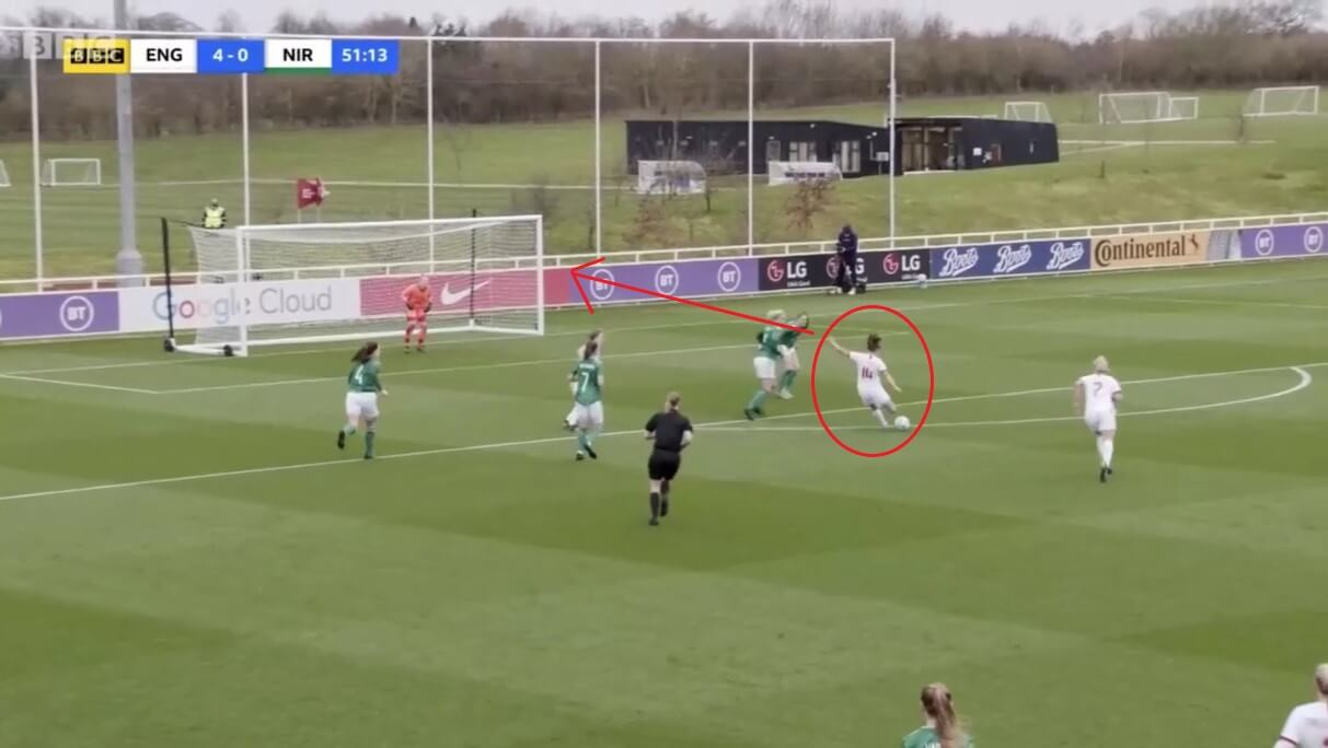 Ella Toone at Manchester United Women 2020/2021 - scout report - tactical analysis tactics