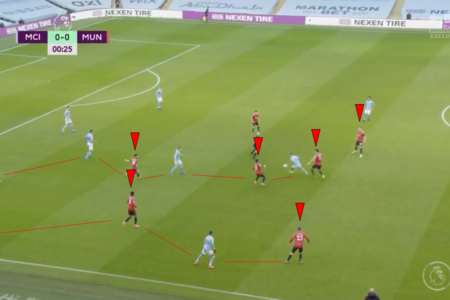 Solskjær's system: How clever pressing and marking off the ball won Manchester United the derby