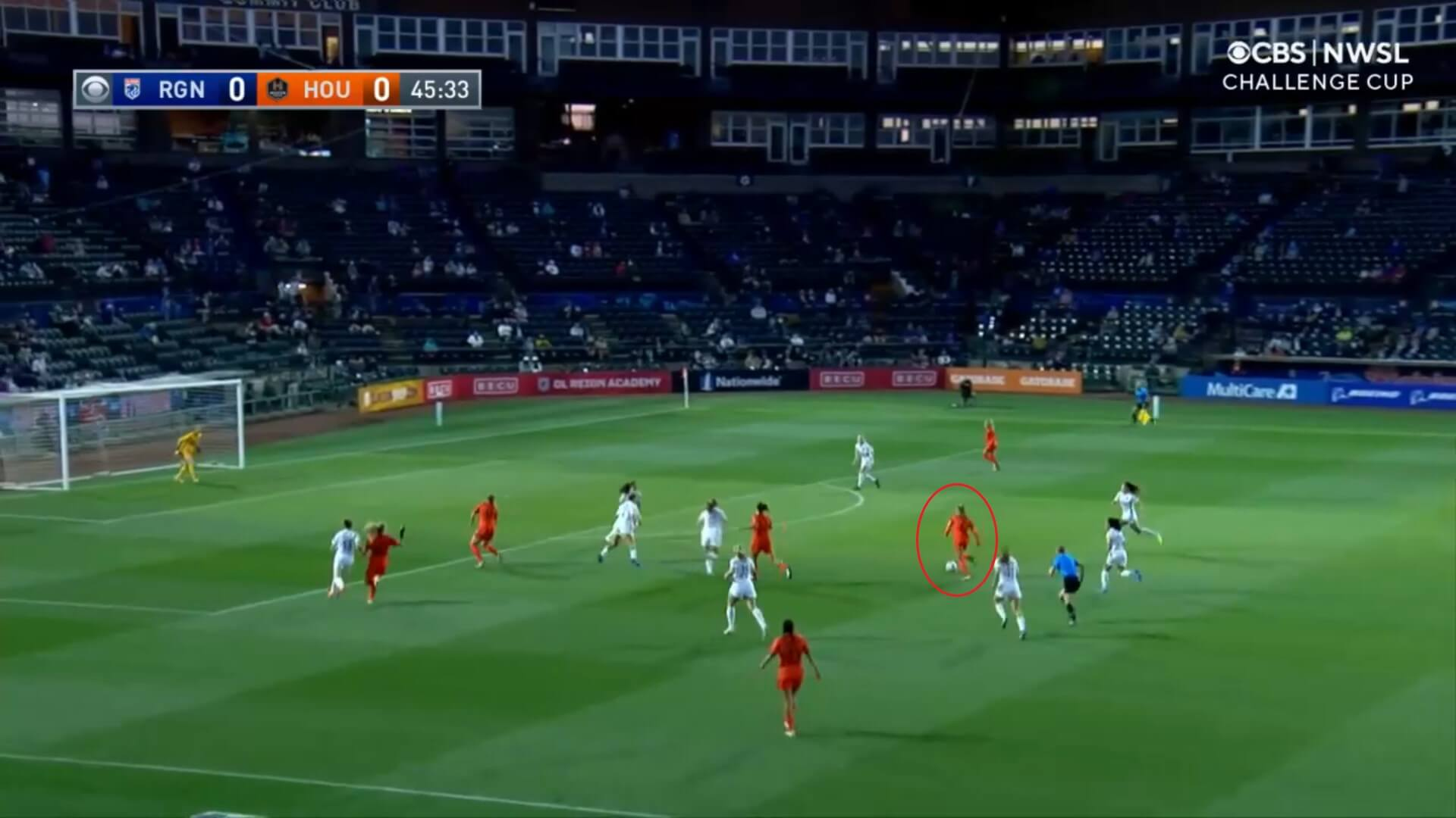 NWSL Challenge Cup 2021: OL Reign v Houston Dash - tactical analysis tactics