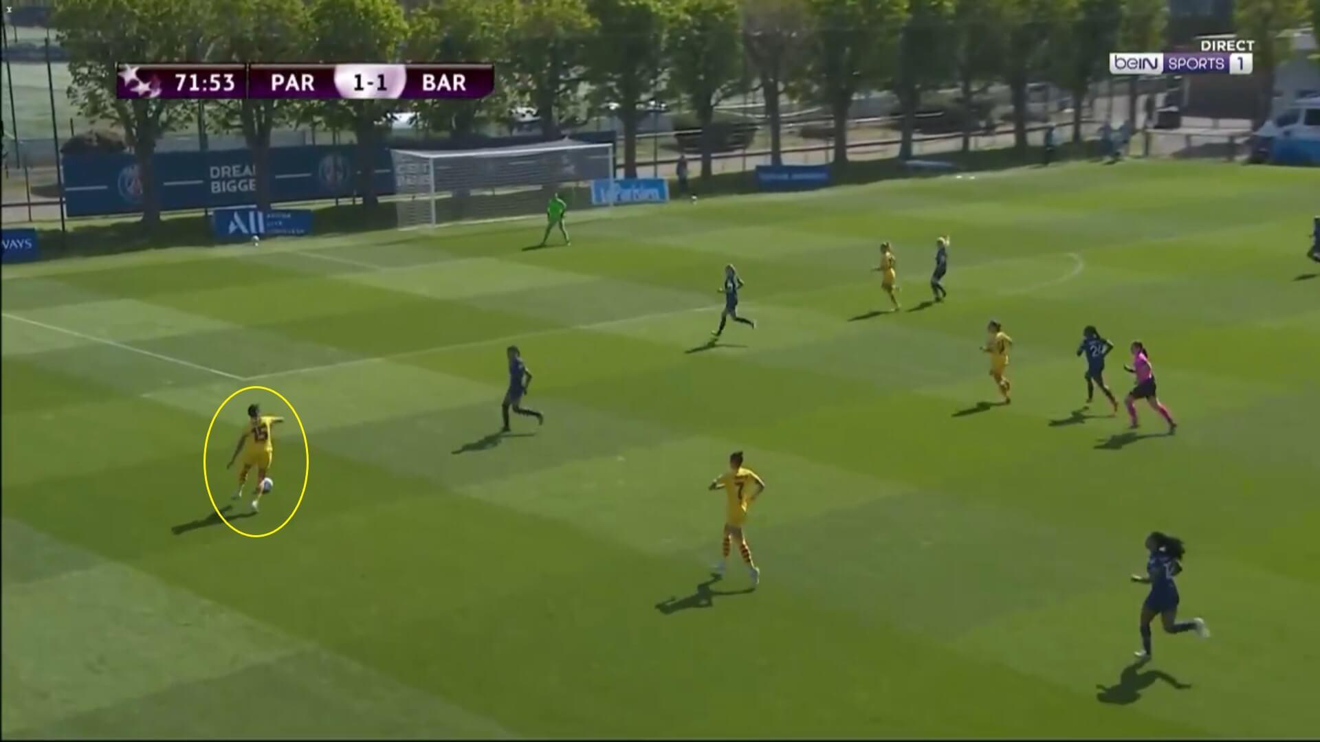 UEFA Women's Champions League 2020/2021: PSG Feminine v Barcelona Femeni - tactical analysis tactics