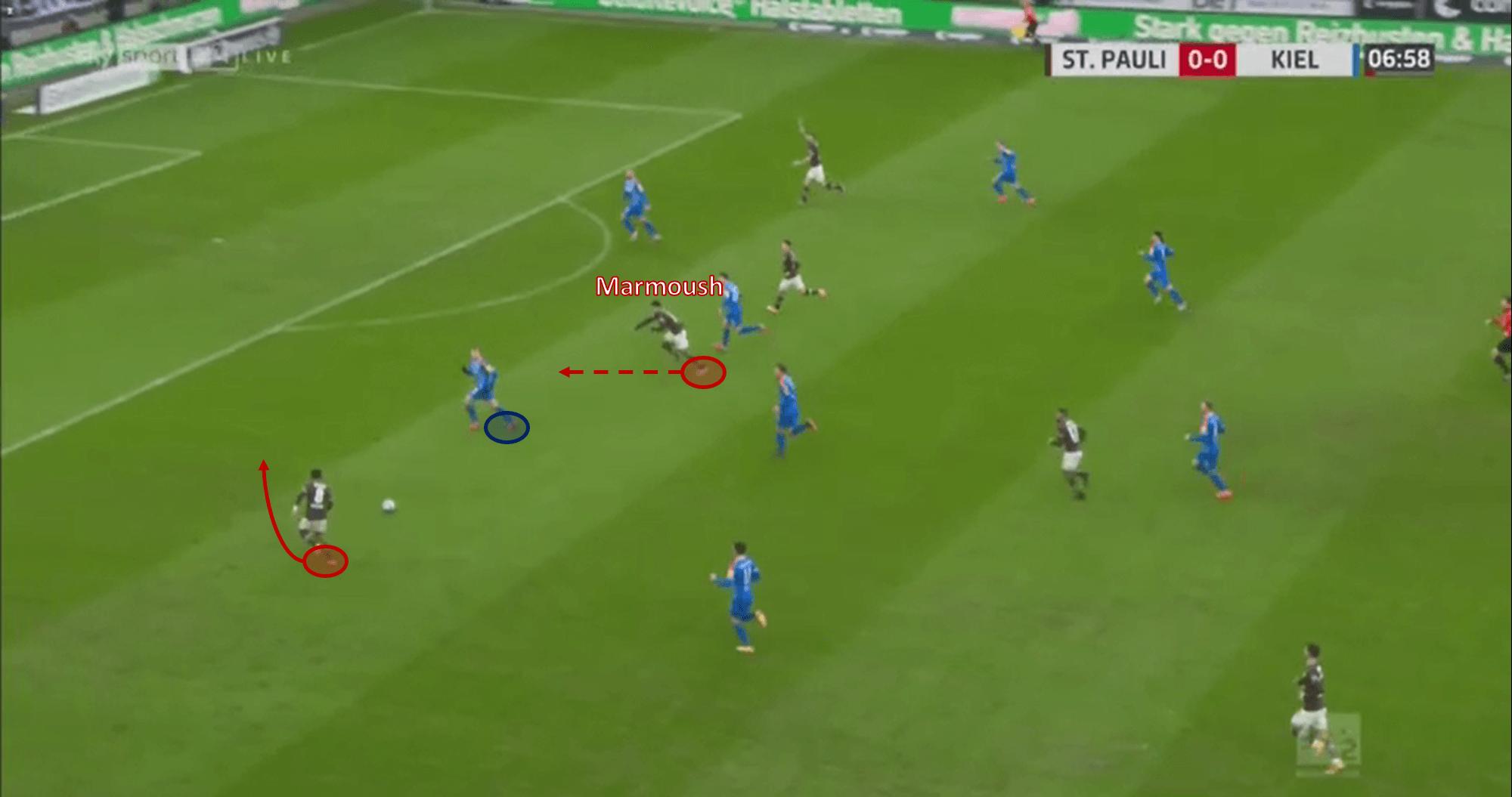 Bundesliga II 2020/21: Omar Marmoush - scout report tactical analysis tactics