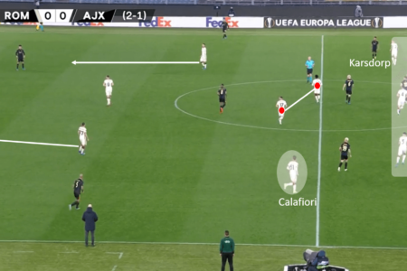 Possession isn't everything: How Roma's defending helped defeat dominant Ajax tactical analysis tactics