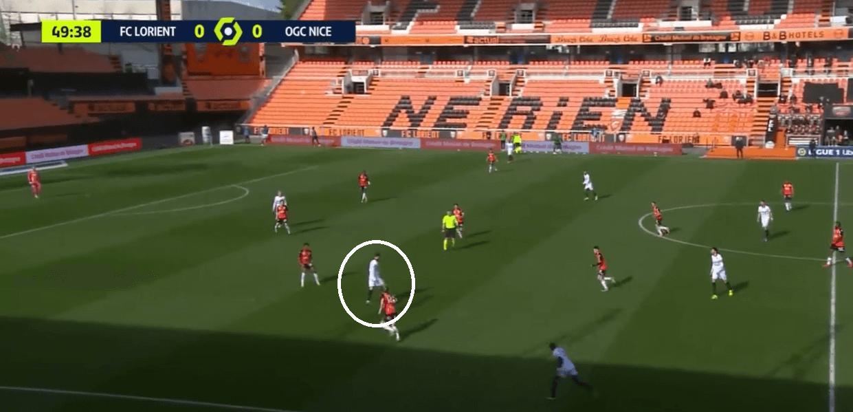 Amine Gouiri - Scout Report tactics tactical analysis