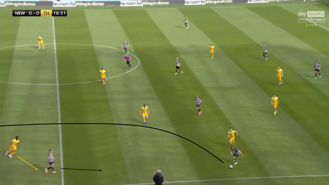 Early crosses and clever wing-play: Analysis of Steve Bruce's Newcastle tactical plan vs Mourinho's Tottenham