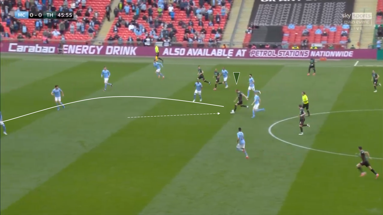 How Man City played through the lines against Spurs to win the EFL Cup Final - tactical analysis