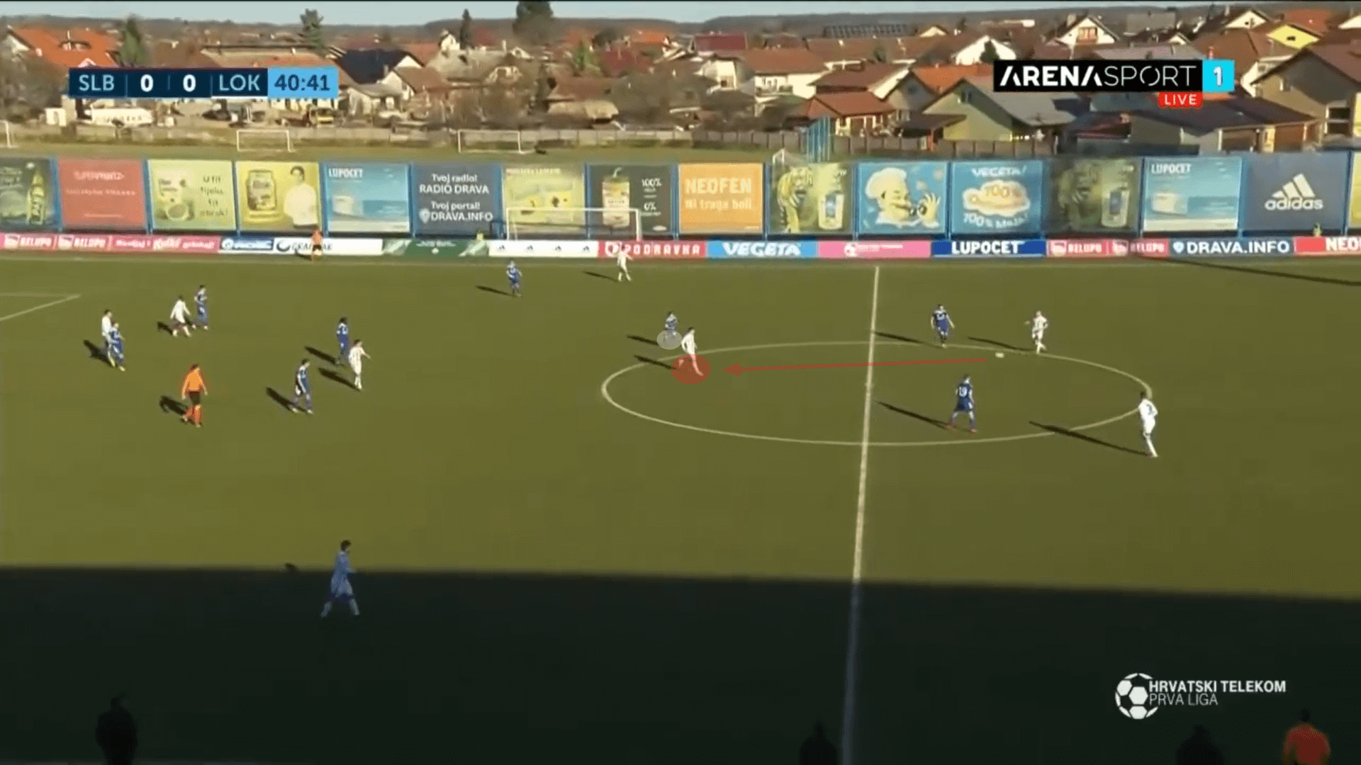 Glavčić in demand: Ex-Partizan hot prospect having a breakout season in Croatia - scout report tactical analysis tactics