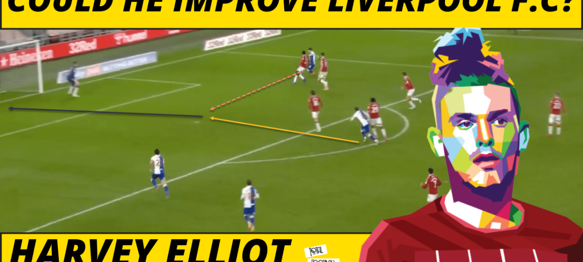 Harvey Elliott Liverpool tactical analysis video