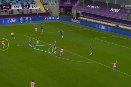 UWCL 2020/2021: Chelsea Women v Barcelona Femeni - tactical analysis tactics