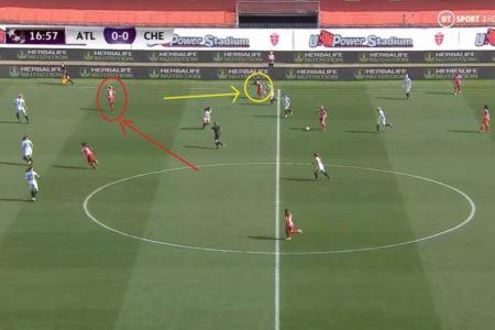 Toni Duggan at Atletico Madrid Femenino 2020/2021 - scout report - tactical analysis tactics
