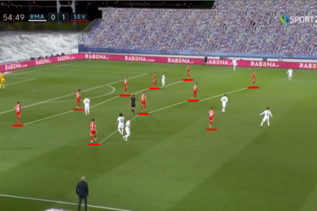 """Deserved to win"": How Sevilla's low-block frustrated Real Madrid in La Liga title race - tactical analysis"