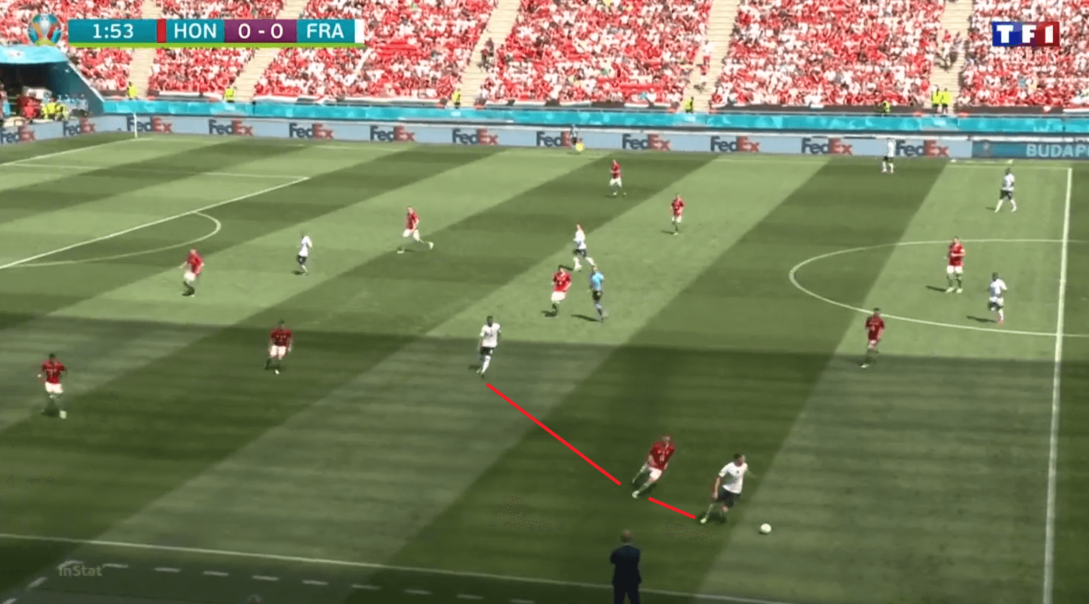 EURO 2020: how France got it wrong by playing Griezmann as a winger against Hungary - tactical analysis tactics