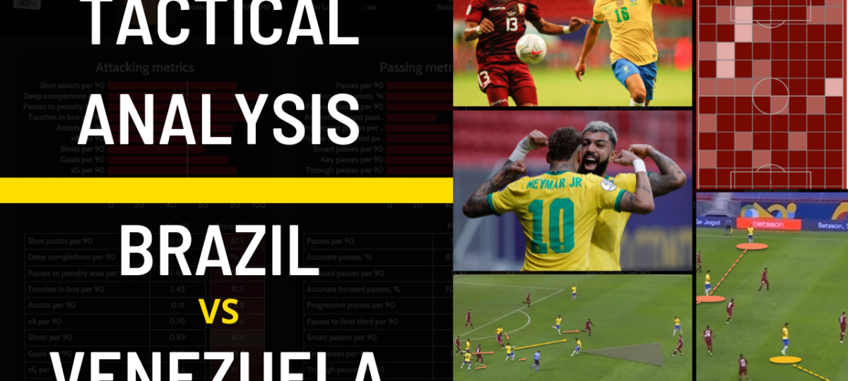 Brazil Venezuela tactical analysis Copa America tactics